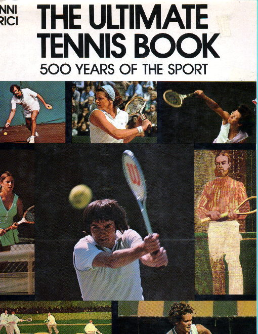 The Ultimate Tennis Book cover