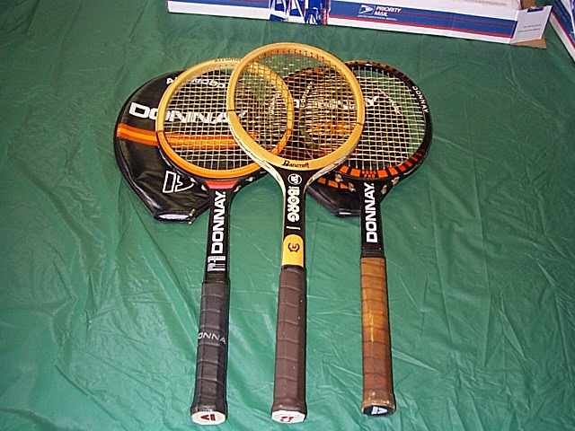 3 borg rackets played