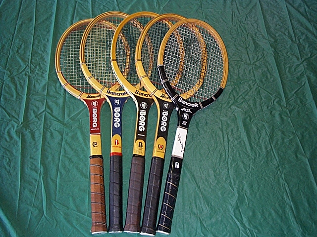 Bjorn Borg rackets & pictures ...