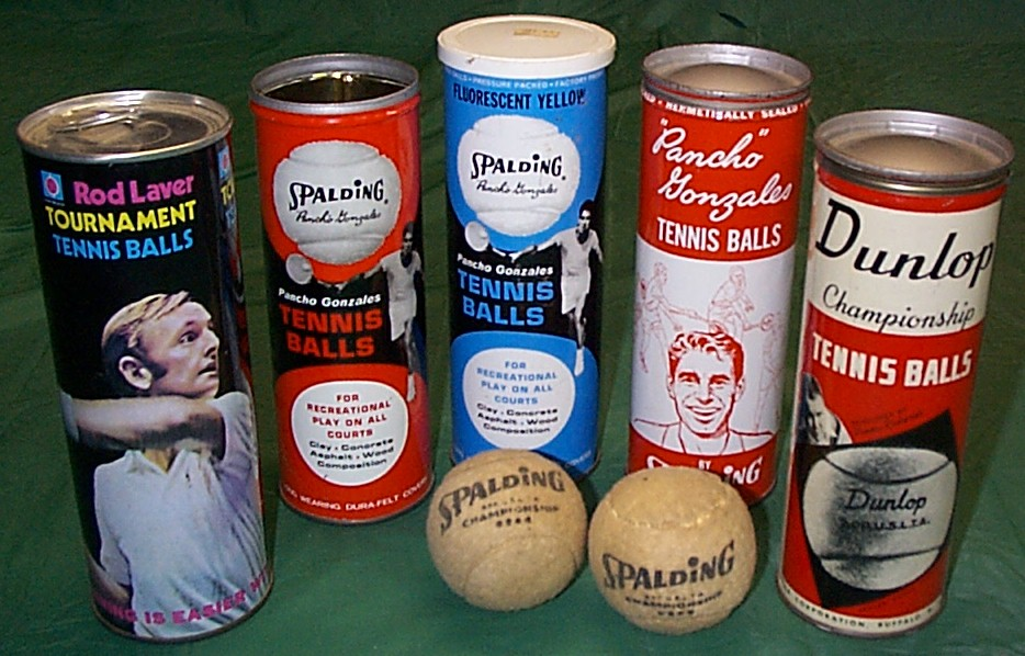 Antique Tennis Ball Cans for sale
