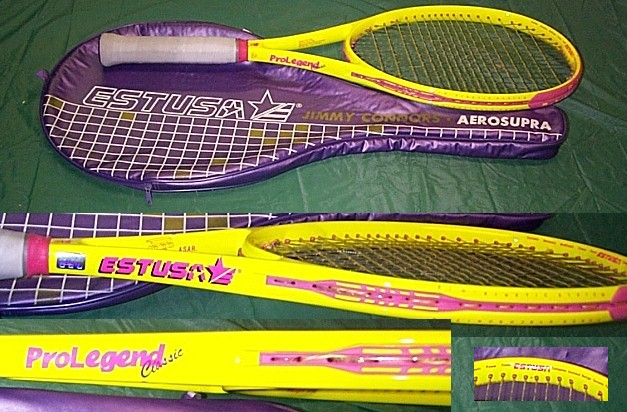 jimmy connors estuza ameripro US Open racket