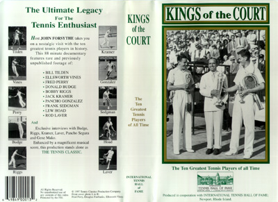 Kings of the Court tennis video