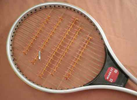 ORIGINAL KUEBLER GERMANY MARK 77 ALUMINIUM RACQUET