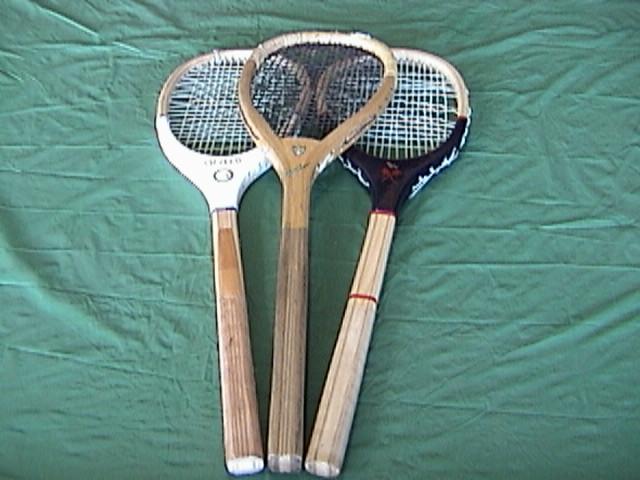 real tennis lopsided or tilt top raquet