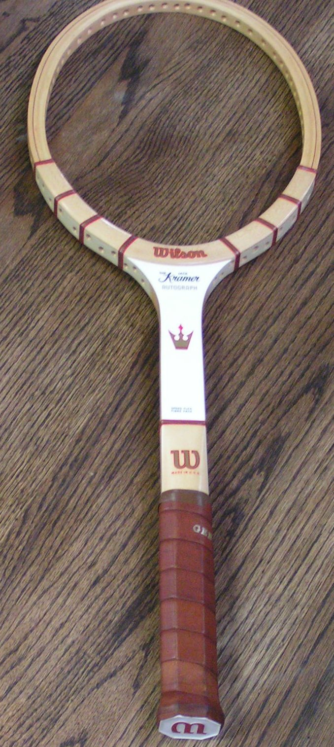 New Wood Tennis Rackets