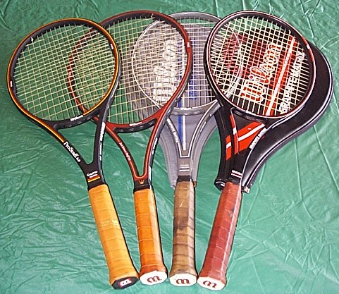 Don Budge racket