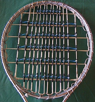 Wilson T2000 spaghetti stringing job